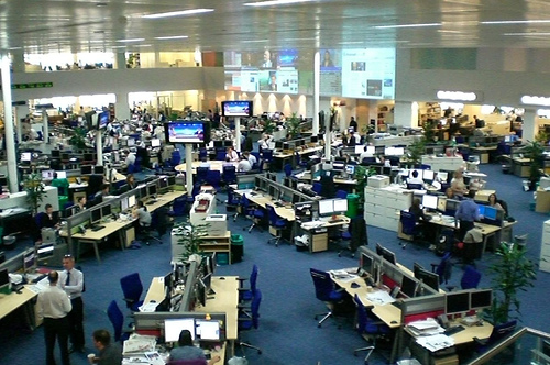The Islington Now newsroom is not quite this snazzy...Image: Antony Mayfield